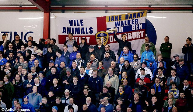 Troubled times: Leeds United supporters have stuck behind their team throughout the financial struggles