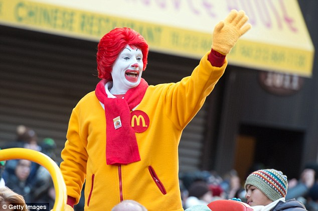 Not 'Lovin' it': This Ronald McDonald is probably less enthusiastic about Taco Bell's breakfast menu than the Ronald McDonald's in the new ad