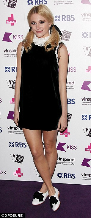 Stepping out; Pixie Loot was amongst the stars to feature at the event in London