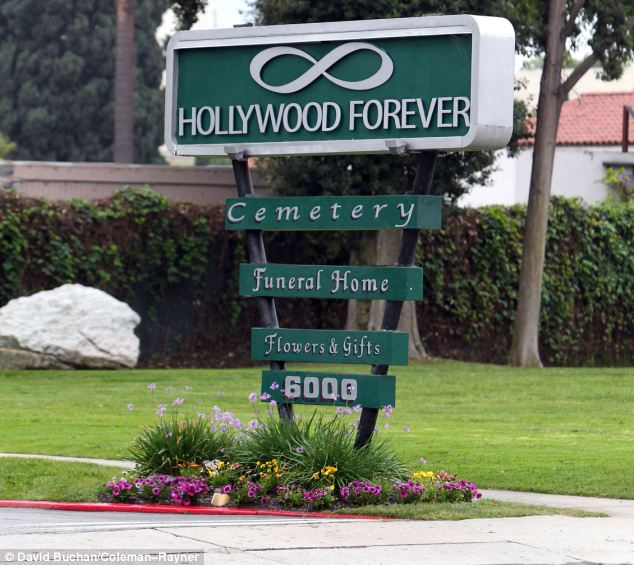 Last resting place: L'Wren Scott's funeral and cremation was at the Hollywood Forever Cemetery. Her family largely did not attend, although her brother had arranged the ceremony with Mick Jagger, her partner.
