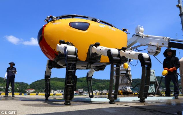 The world's deepest and largest underwater robot could be used in scientific exploration projects as well as fixing structures far beneath the waves such as pipes used to carry oil and gas