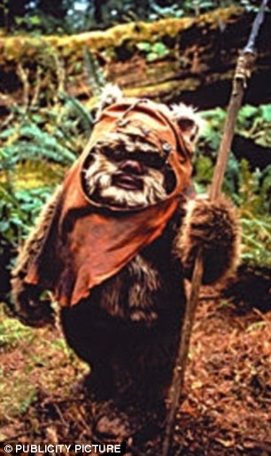 Warwick's most famous role was playing Wicket the Ewok in Star Wars: Return of the Jedi