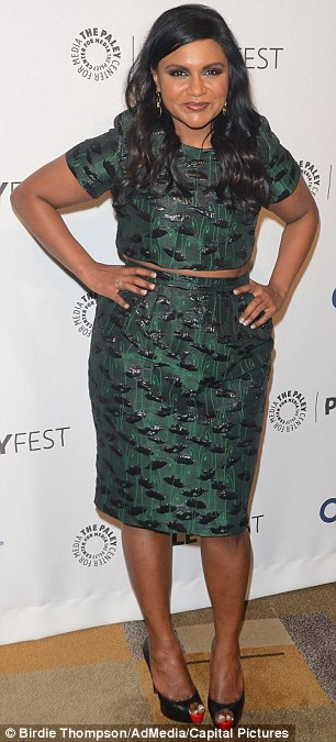 Rather than shying away from her size ten body, the 34-year-old creator and star of The Mindy Project explains how  important clothes are in framing her silhouette to knockout effect
