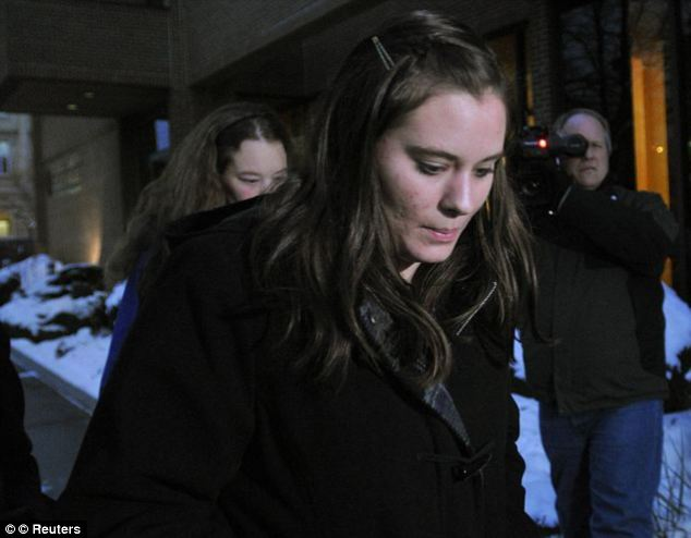 Jordan Graham, pictured leaving court last year, has filed court documents through her lawyer claiming that the prosecution reneged on a plea deal
