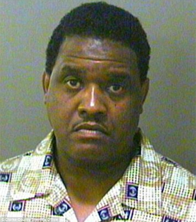 Not the only one: NeNe's husband Gregory Leon Leakes has also been arrested numerous times, including a 2002 charge for stolen property