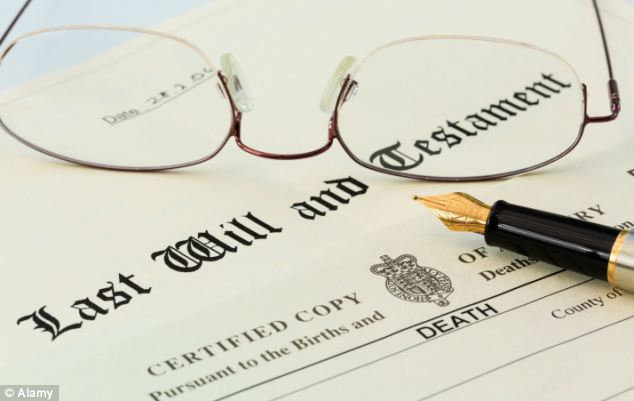 Despite their increasing wealth, six in ten adults do not have a will and a third have no plans to make one