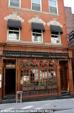 The La Famiglia Giorgio's Ristorante in Boston, MA, sells the feast