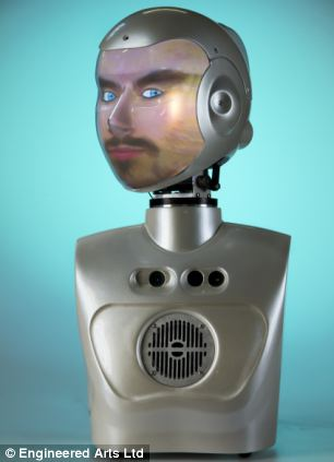 With many of the interactive features found on RoboThespian, SociBot is a great choice if your robot budget is limited, or you don't have the space for a full-sized humanoid. A desktop model, SociBot-Mini, is also available - perfect for research, or experimenting with at home.  Socibot uses projective head technology, which we have now combined with a sophisticated mesh mapping algorithm, meaning your robot can have any face you desire - even your own. Expressions and features are easy to modify and control. With voice recognition, facial tracking, lip-syncing, and speech synthesis in more than twenty languages, anyone can converse freely with our chattiest robot!  Starting from just £14500 for our standard SociBot installation (or £9500 for SociBot-Mini), either model can be extended and customised to suit your needs.