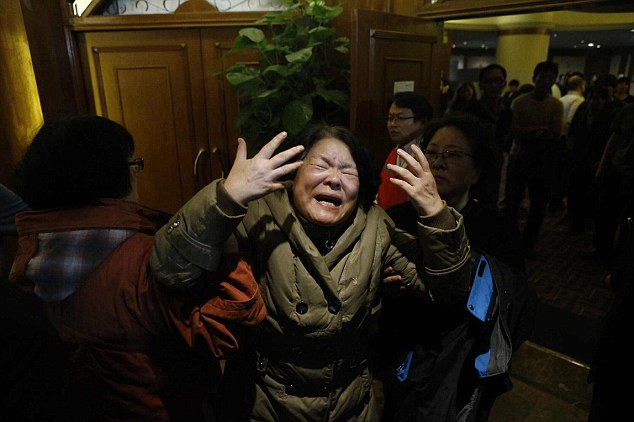 Relatives of the passengers on board were left devastated by the announcement Monday that all 239 passengers and crew were presumed to have been killed