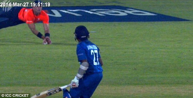 New evidence: The ICC released the video used by the third umpire