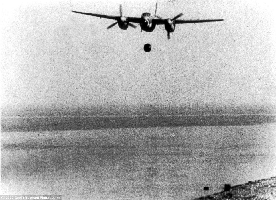 Daring raid: The Dambusters in action during the Second World War