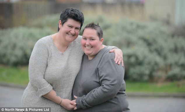 'It already feels like barriers have come down in society,' said Mandy, who proposed in August