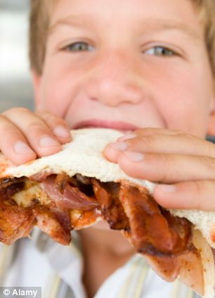 The bacon sandwich remains Britain's favourite breakfast when eating away from home
