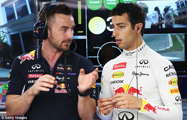 Issues: Daniel Ricciardo was disqualified from the season-opening race in Australia following a fuel irregularity
