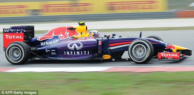 In the fast lane: Red Bull experienced more issues with the fuel-flow sensors during practice for Sunday's race