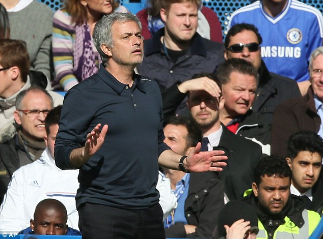 Falling out: Lukaku angered Jose Mourinho earlier this season by saying he would consider staying at Everton