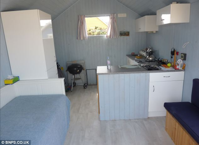 The agent marketing the property says it can accommodate up to four people but they can only stay overnight from March to October, due to a local bylaw