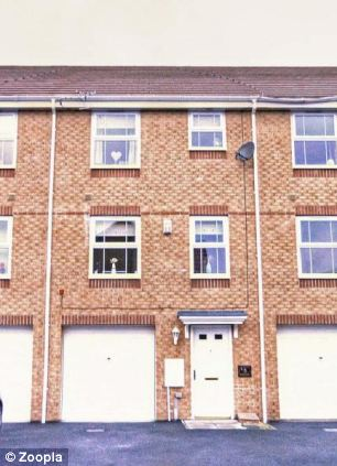 This four-bedroomed terraced house in Thornaby, Stockton-on-Tees costs the same as the beach hut