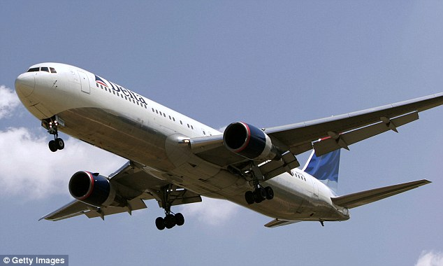 Delta: About 25 minutes before the Delta flight landed, FBI say he told her he could 'teach her things sexually that boys her age could not' (stock photo)
