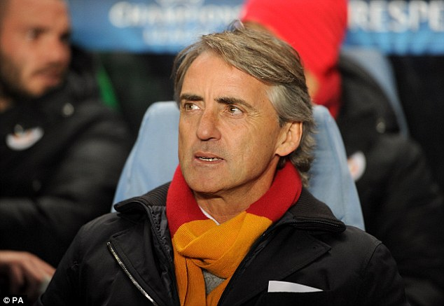 Back to Blighty? Mancini is open to a return to England - where he spent three-and-a-half years