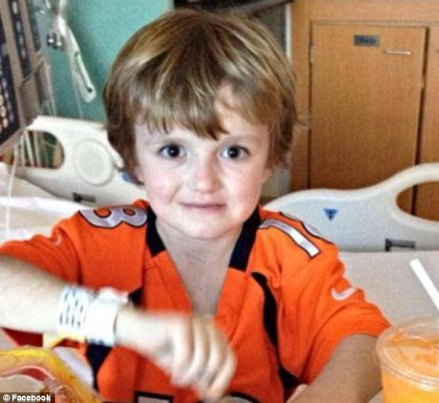 Feeling better: Josh, pictured before contracting the deadly virus, was discharged from hospital in April