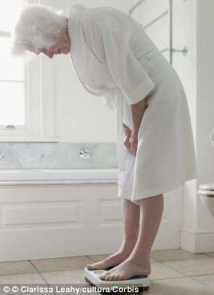 Elderly people with a BMI of 27.5 - which is classed as overweight - live the longest
