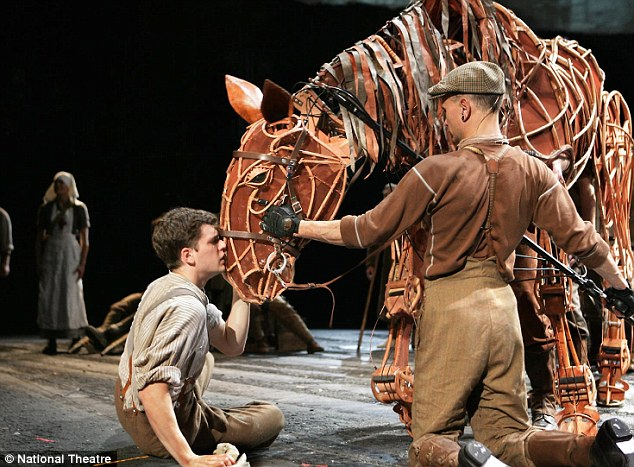 War: It tells the story of a Devon farmer¿s horse, Joey, who is sold to the cavalry and shipped to the French front during the First World War