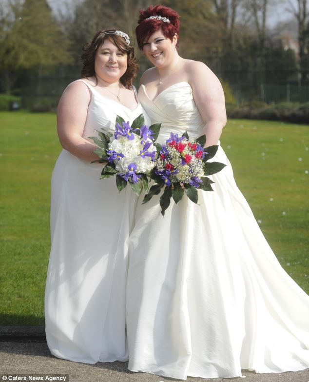 Now Mrs and Mrs Billington-Green, the pair said their families have been incredibly supportive