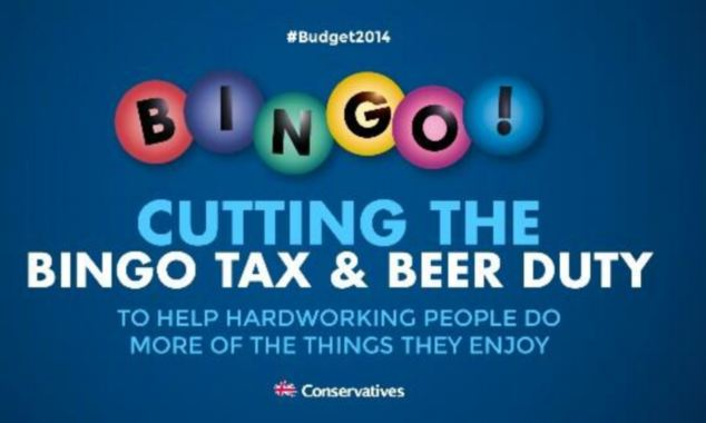 Warsi, who was Conservative party chairman before Grant Schapps, also backed her successor over the controversial 'bingo' election poster, saying he shouldn't be held solely responsible