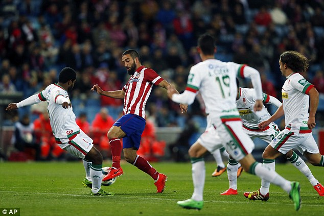 Key man: Arda Turan is the player Barcelona should be most worried about