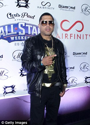 """Benzino attends the """"Who Party The Hardest?"""" Event hosted by 2 Chainz, Monica, and Hairfinity during NBA All-Star Weekend 2014 at Masquerade Club At Harrah's on February 16, 2014"""