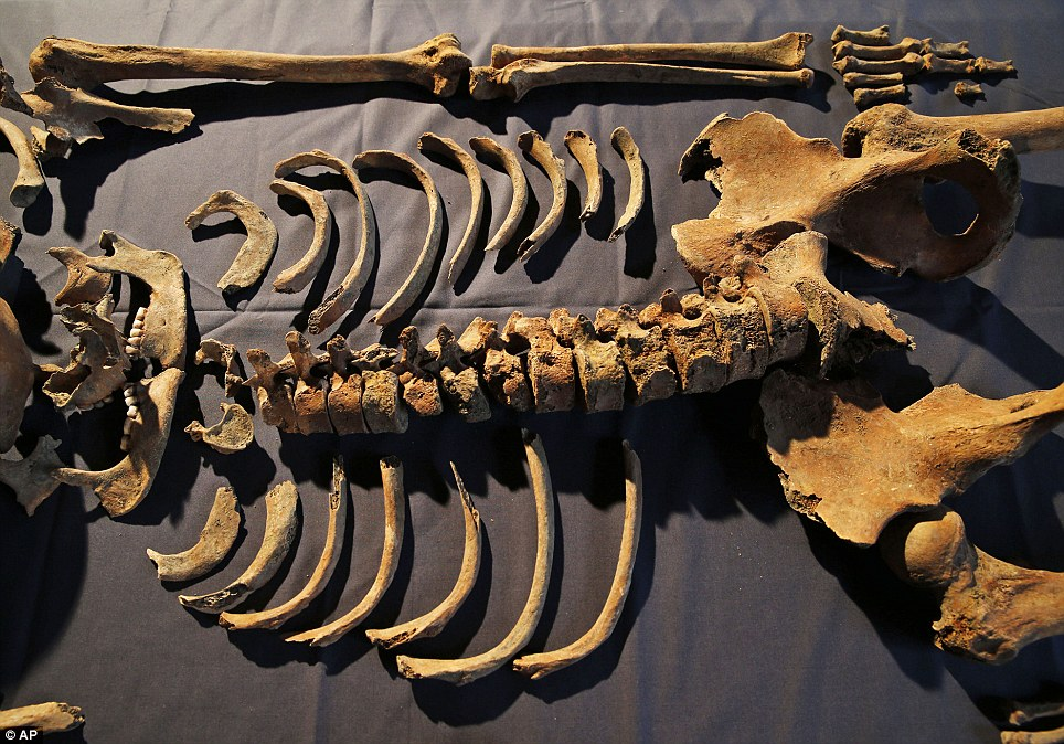 The DNA samples, which were extracted from the molar teeth of the skeletons, have also revealed intriguing details of the victims' lives