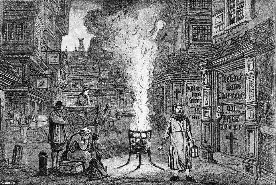 Bring out your dead: The Black Death decimated the population of Britain in the mid 14th century killing an estimated six of 10 Londoners