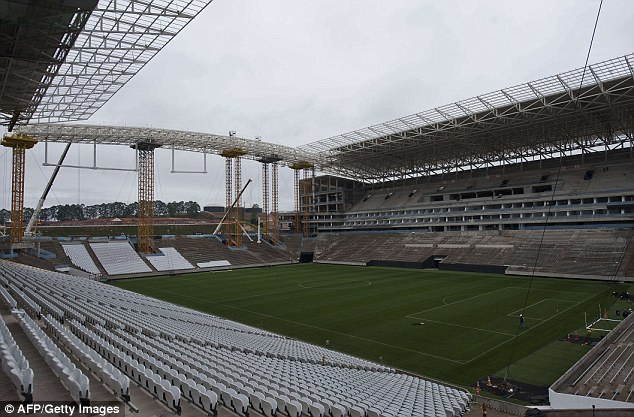 The stadium will have a capacity of