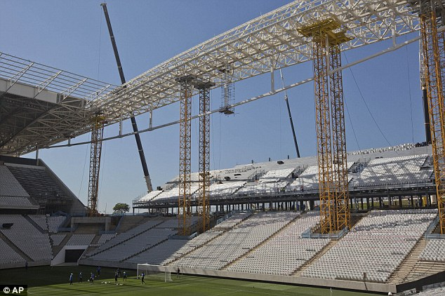 In Brazil's seventh World Cup-related death, the construction company behind the Itaquero stadium confirmed yesterday that a worker had died after falling at the site