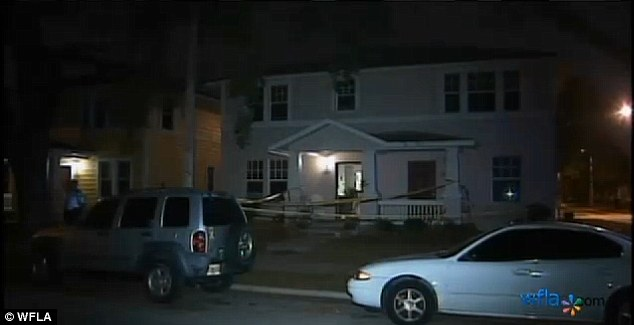 Scene: The attack happened at Carolyn Trotter's apartment on 13th Avenue in St Petersburg, Florida