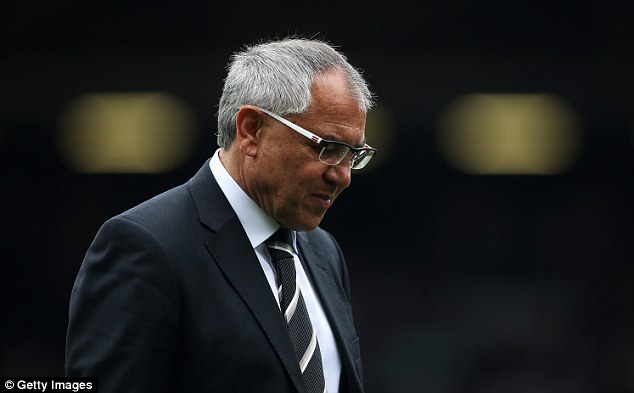 Missed opportunities: Felix Magath's side might have won had they taken their chances