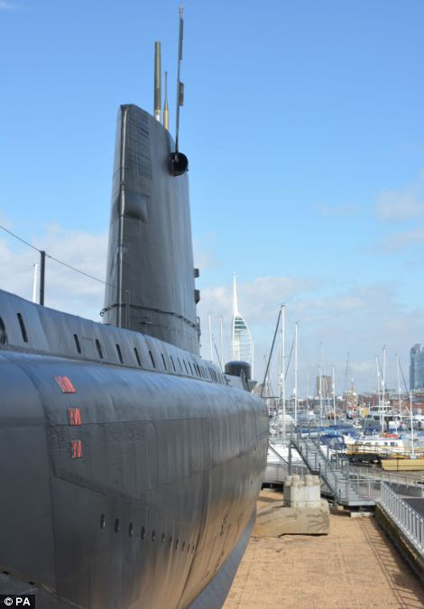 The Alliance is the only surviving Royal Navy submarine from the World War Two era