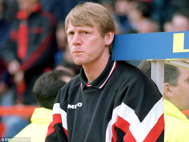 Temporary: Pearce was caretaker manager of Forest following Frank Clark's departure in December 1996