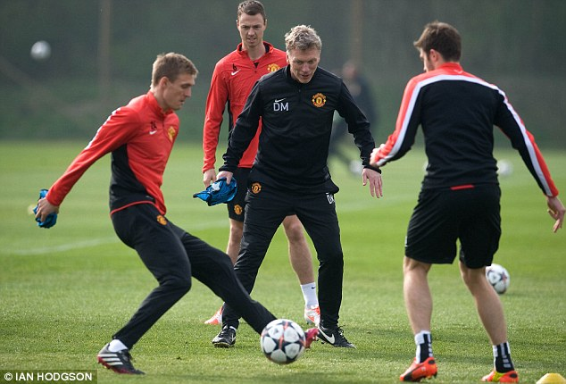 Big ask: David Moyes must galvanise his side over two legs in order to overcome the mighty Bayern Munich