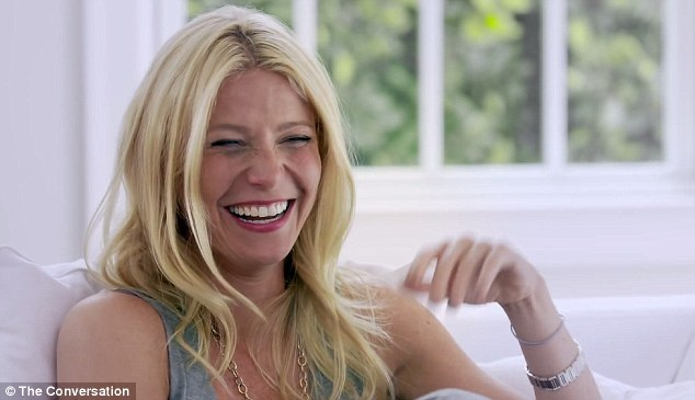 Back in the the day: Gwyneth Paltrow agreed with celebrity interviewer Amanda De Cadenet that they got casual sex 'out of their system' while reminiscing about their single life
