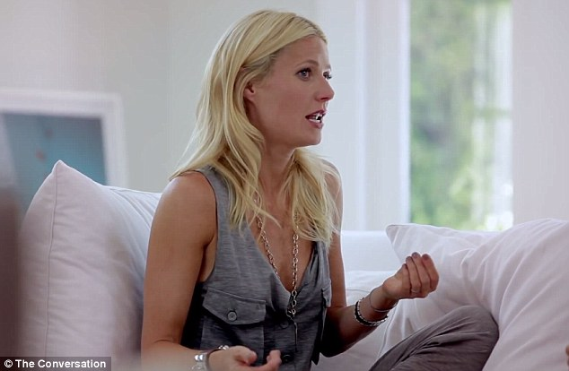 Quip: Gwyneth insisted she found her 'sexuality' in a long-term relationship, and she and Amanda both joked they were glad they 's****ed everyone' when they were younger