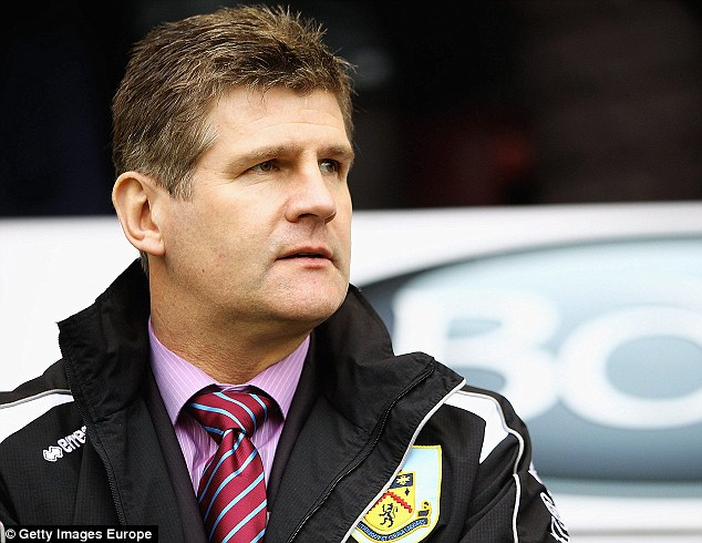 Helping hand: Former Burnley boss Brian Laws is understood to have offered his services to the club