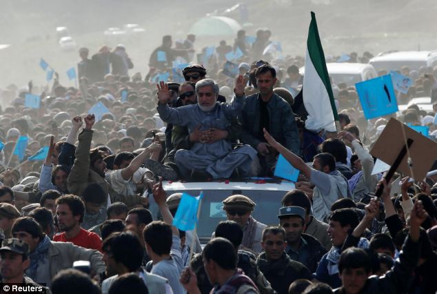 Elections: Separately on Monday, presidential candidate Abdullah Abdullah held a campaign rally in Panjshir province. Sterga 2 will operate 10 polling stations on Saturday
