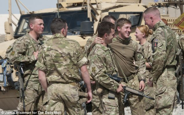 The build-up of the Afghan army and police¿s capability is a key plank in the decision to end UK combat operations. Since January 1, the ANSF have requested British help on just one occasion in this stretch of Helmand