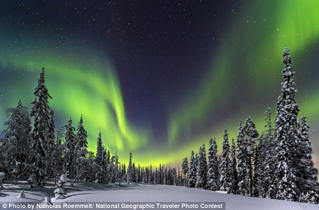 Plasma from the solar flare will graze Earth tomorrow causing a possible geomagnetic storm that will create auroras for high-latitude sky watchers