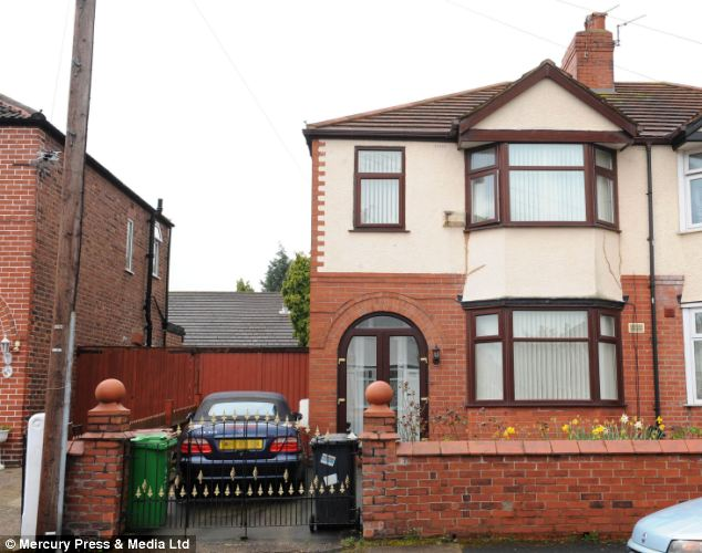 Boast: Saleem said that he was a millionaire brain surgeon with celebrity neighbours, but in fact lived in this semi-detached house with his parents