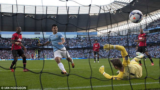 Crucial: The Argentine has found the net on 26 occasions in the Premier League through a productive year