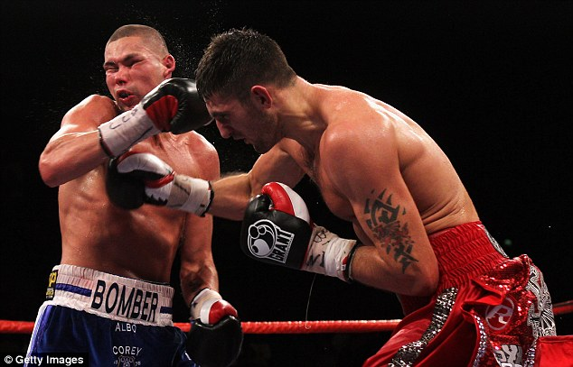 Again: Nathan Cleverly (right) is set to face Tony Bellew (left) in November in a long-awaited remach