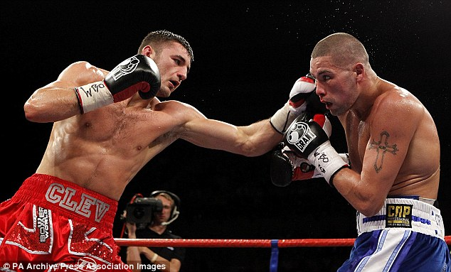 Same result? Cleverly edged out Bellew three years ago and is prepared to return to Liverpool